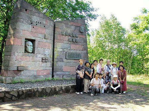小樽ツアー多喜二と啄木の歴史 2010年7月24日�