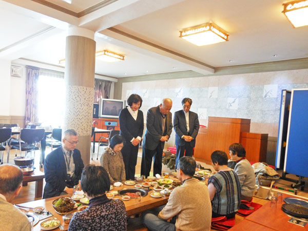 旅システム25周年記念 韓国平和と交流の旅�