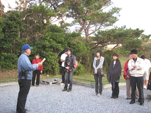 第20回沖縄平和を考えるツアー 2008年1月6日〜9日 その1