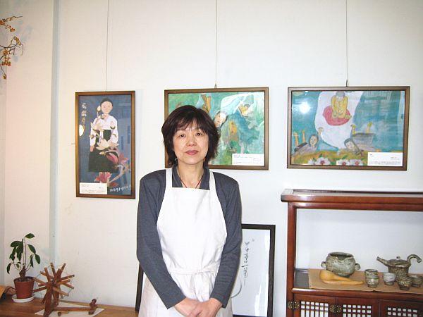 ナヌムの家絵画展  2008年4月14日〜5月15日�