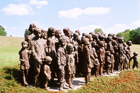 リディツェ村 82人の子ども像